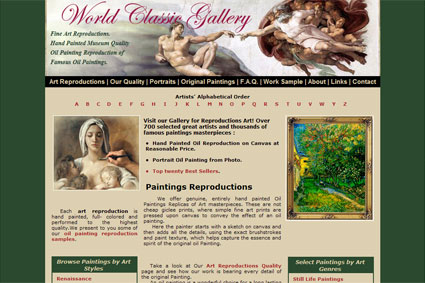 Art Reproduction Gallery