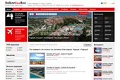 Website of  Balkantourbox LTD - tourist services and hotel reservations, airline tickets, tours, cruises