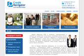 Website of  Credit Navigaror  | Website design | create website | make a website
